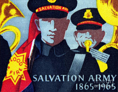 Salvation Army. Art Print by Stan Pritchard