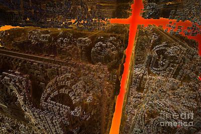 Luis Digital Art - Salvation by Jonas Luis