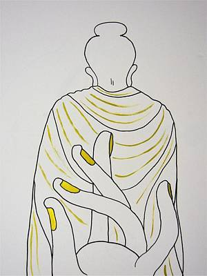 Drawing - Salvation by Kruti Shah