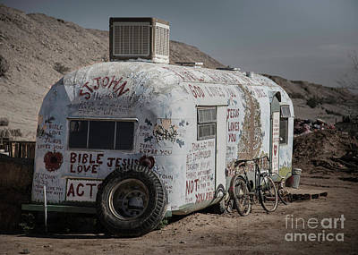 Photograph - Salvation Mountain by Dusty Wynne