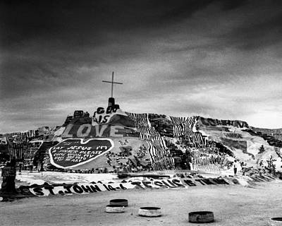 Niland Photograph - Salvation Mountain by Alex Snay