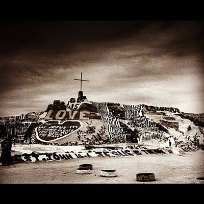 Fineart Wall Art - Photograph - Salvation Mountain. This Is Located by Alex Snay