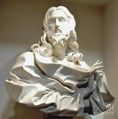 Photograph - Salvator Mundi By Bernini by Suzette Kallen