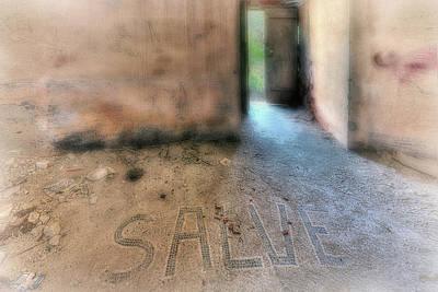 Photograph - Salve - Welcome by Enrico Pelos