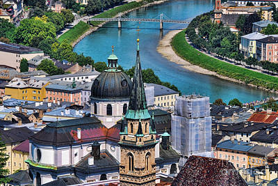 Salzburg Austria Europe Art Print by Sabine Jacobs