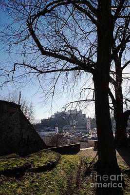 Photograph - Salzburg Austria In Winter 1 by Rudi Prott