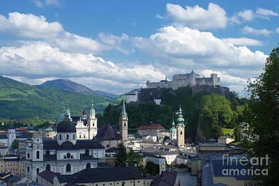 Photograph - Salzburg Austria Old Town 4 by Rudi Prott