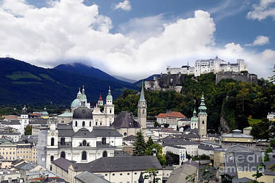 Photograph - Salzburg - City Of Music by Brenda Kean