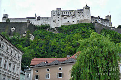 Photograph - Salzburg Castle by Carol Groenen