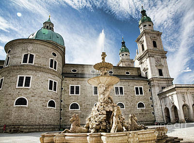 Photograph - Salzburg Cathedral by Scott Kemper