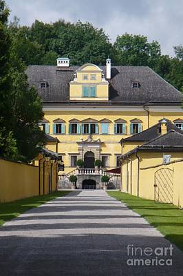 Photograph - Salzburg Chateau by Carol Groenen