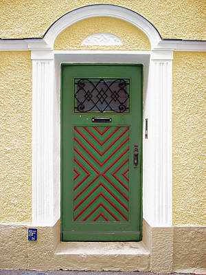 Salzburg Door Art Print by Derek Selander