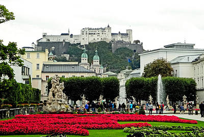 Photograph - Salzburg Gardens by Robert Meyers-Lussier