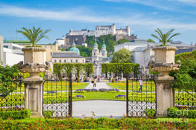 Photograph - Salzburg by KS Images