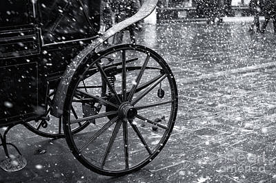 Photograph - Salzburg Snow Buggy by John Rizzuto
