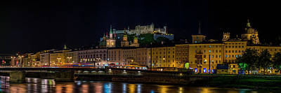 Photograph - Salzburg Waterfront by David Morefield