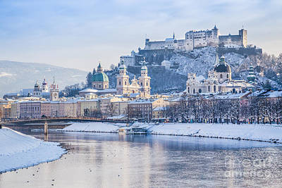 Photograph - Salzburg Winter Dream by JR Photography