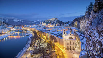 Photograph - Salzburg Winter Dreams by JR Photography