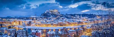 Photograph - Salzburg Winter Magic by JR Photography