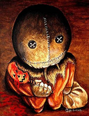 Hallows Painting - Sam by Al  Molina