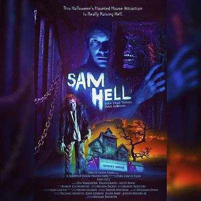 Photograph - sam Hell Looks Awesome! Found A New by XPUNKWOLFMANX Jeff Padget