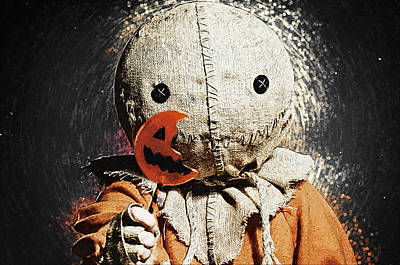 Candy Digital Art - Sam - Trick R Treat by Taylan Apukovska