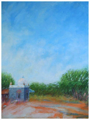 Meher Baba Painting - Samadhi Sunrise by Joe DiSabatino