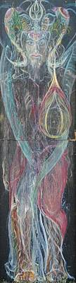 Painting - Samanaraj by Brian c Baker