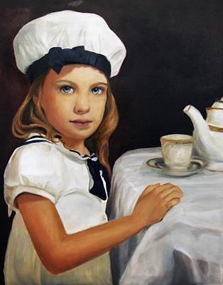 Samantha Art Print by Lisa Konkol