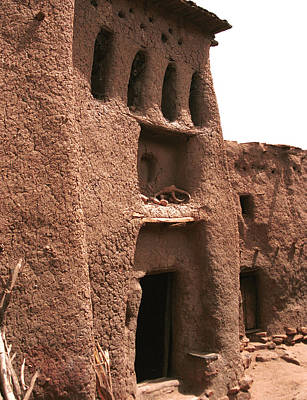 Dogon Country Photograph - Samari 1988 by Huib Blom