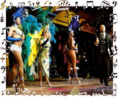 Photograph - Samba Dancers by Barbie Corbett-Newmin