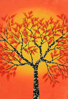Autumn Painting - Sambharv by Sumit Mehndiratta