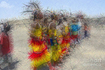 Roaring Red - Samburu Impressions by Morris Keyonzo
