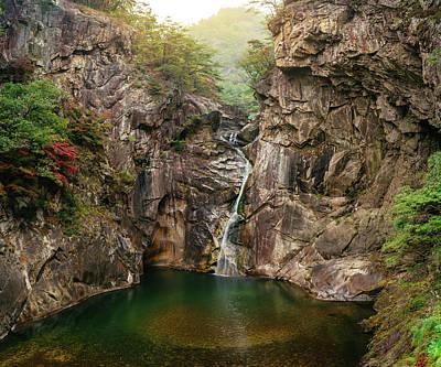 Photograph - Sambuyeon Waterfall by Roy Cruz