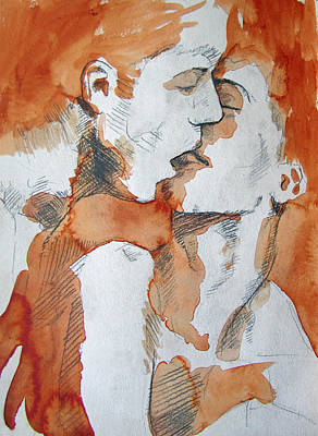 Gay Rights Wall Art - Painting - Same Love by Rene Capone