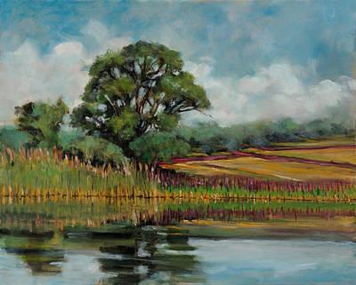 Winery Painting - Same Old Tree by Robert James Hacunda