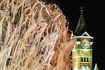 Samford Hall And Rolling Toomer's Print by JC Findley