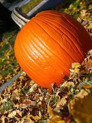 Photograph - Samhain Pumpkin II by Kyle West
