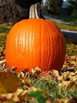 Photograph - Samhain Pumpkin by Kyle West