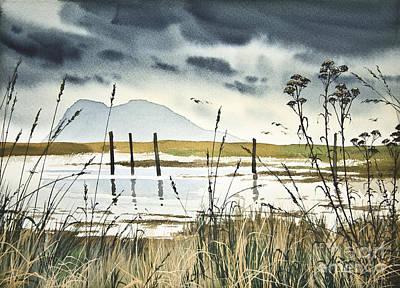 Samish Bay Shore Art Print by James Williamson