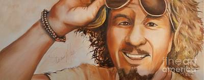 Van Halen Painting - Sammy by Daniel Livingston