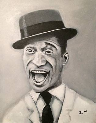Painting - Sammy Davis Jr. by Justin Lee Williams