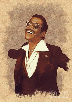 Sammy Davis Jr., Music Legend Art Print