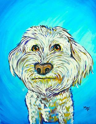 Painting - Sammy by Marisela Mungia