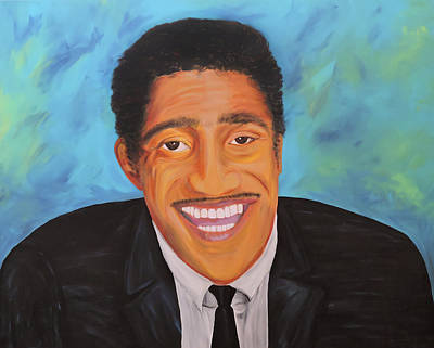 Painting - Sammy Smiles by Nicole Burnett
