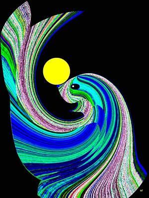 Sammy The Seal Art Print by Will Borden