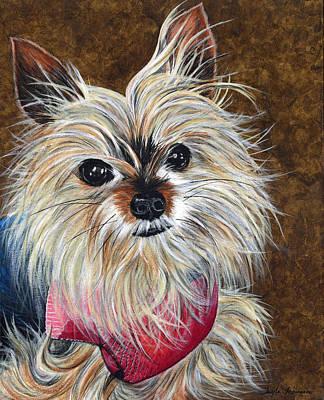 Senior Dog Painting - Sammy by Twyla Francois