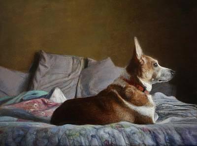 Painting - Sammy by Wayne Daniels