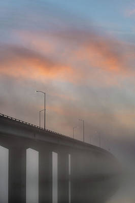 Photograph - Samoa Bridge At Dusk by Greg Nyquist