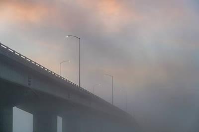 Photograph - Samoa Bridge Close-up At Dawn by Greg Nyquist